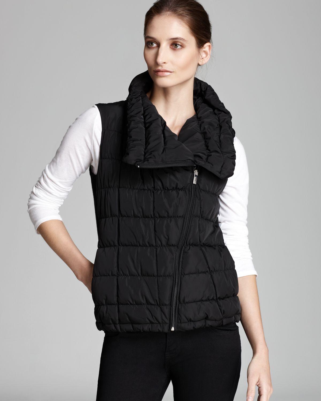 Calvin Klein Puffer Vest In Black Lyst