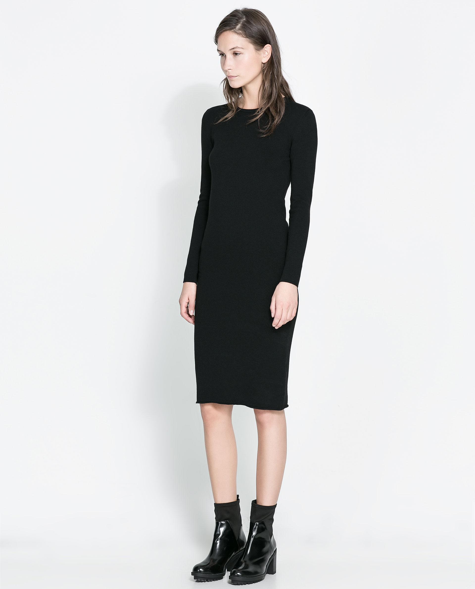 b84bc791 Maxi Dress Long Sleeve Zara - raveitsafe