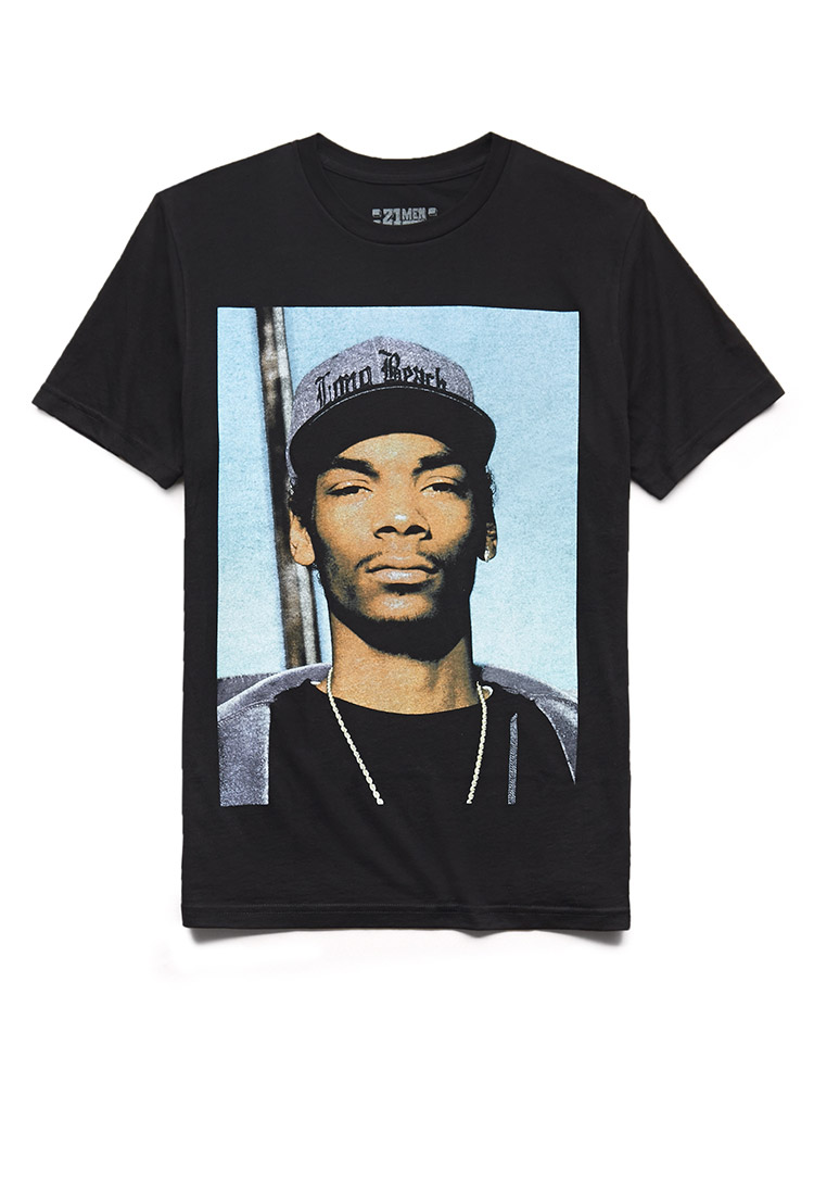 ea643bde Forever 21 Snoop Dogg Tee in Blue for Men - Lyst