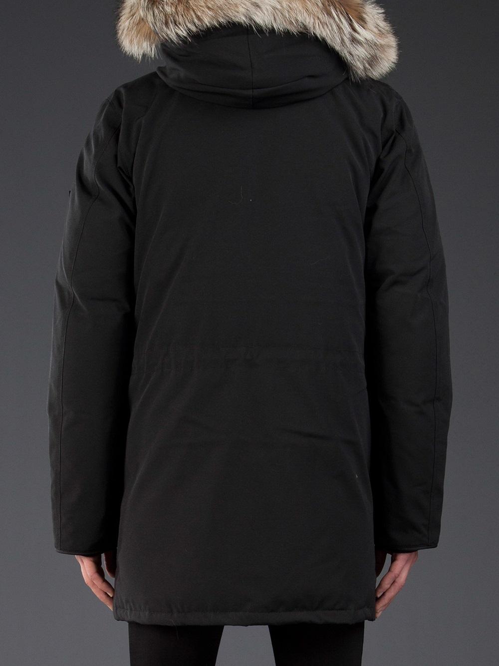 Lyst Canada Goose Citadel Parka In Black For Men