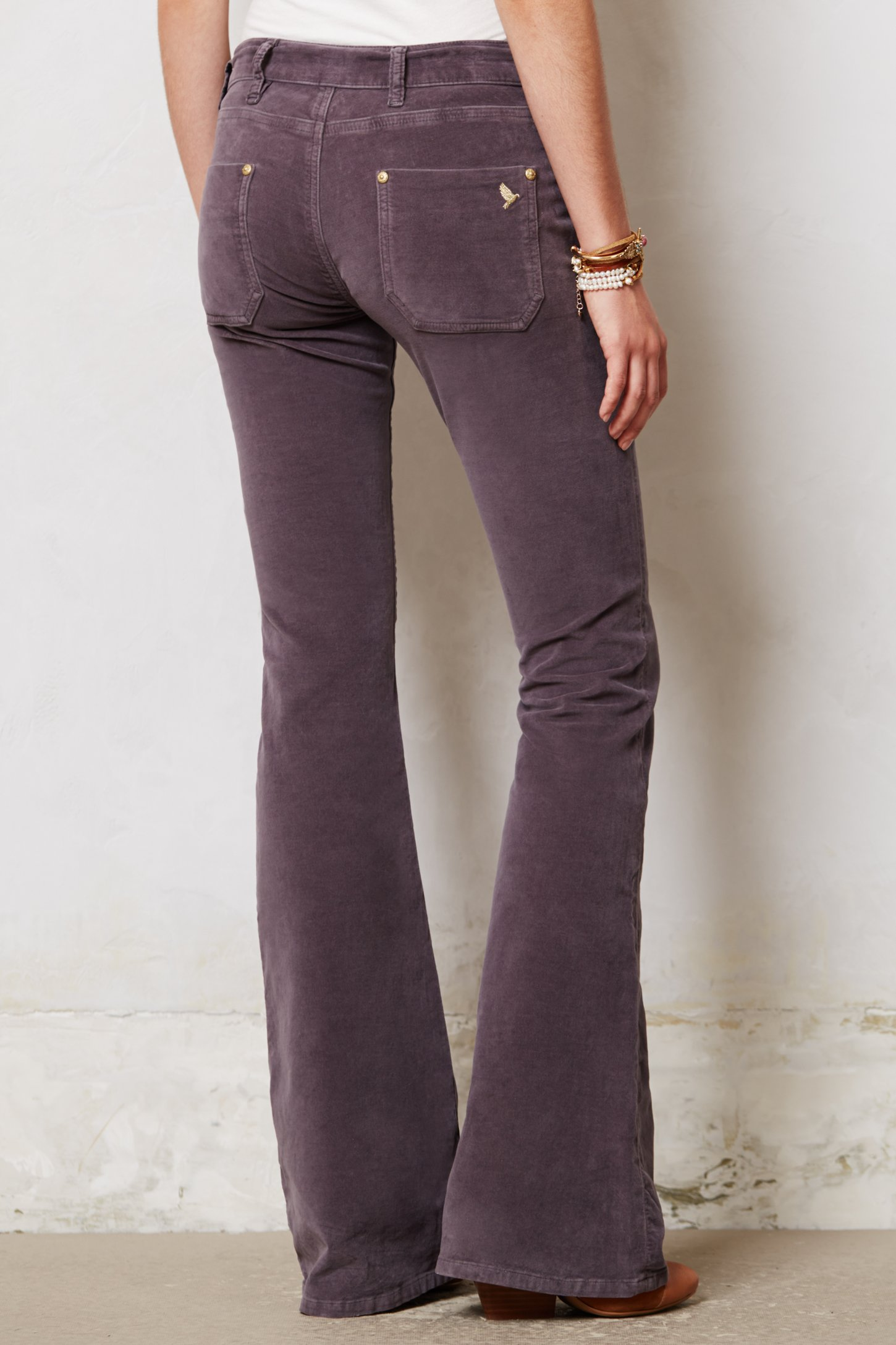 M.i.h jeans Petite Casablanca Flare Jeans in Purple | Lyst