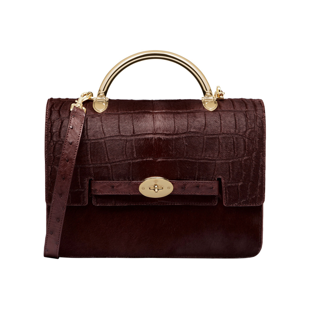 bc9ee633f2 Mulberry Large Bayswater Shoulder in Red - Lyst