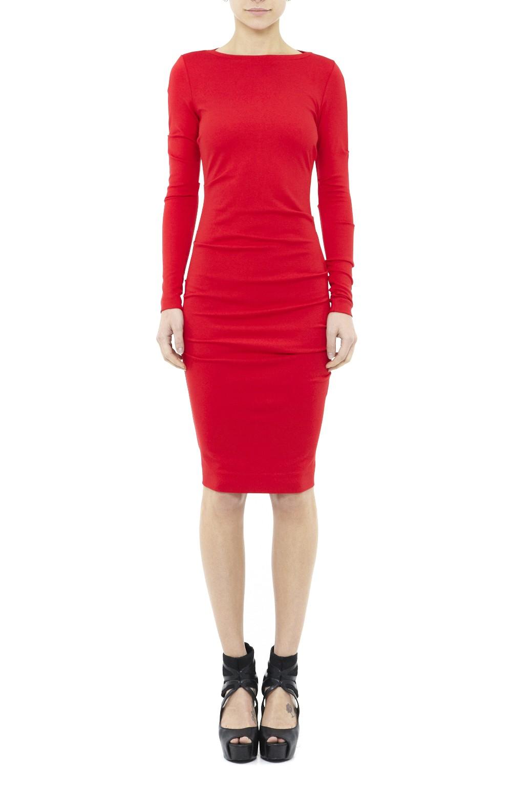 Christina Long Sleeve Ponte Dress