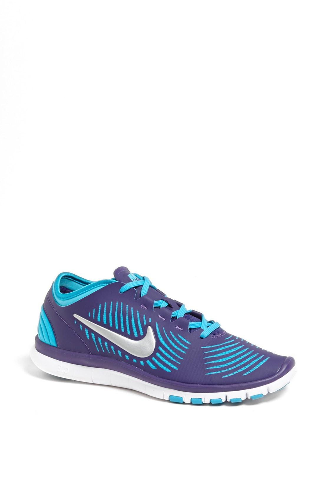 Nike Free Balanza Training Shoe in Blue (Purple/ Gamma ...