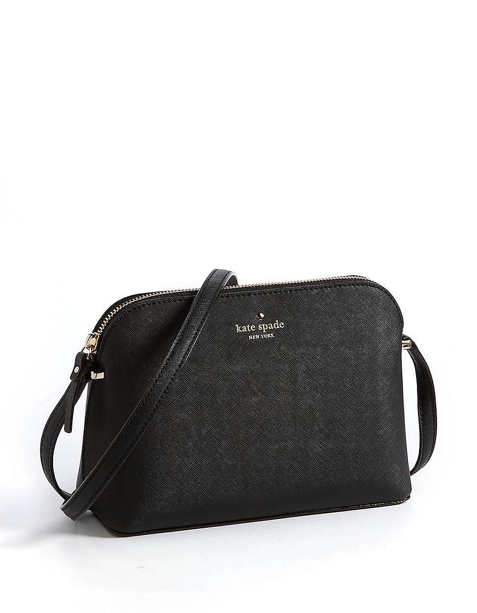 70227465d Kate Spade Cedar Street Mandy Leather Crossbody Bag in Black - Lyst