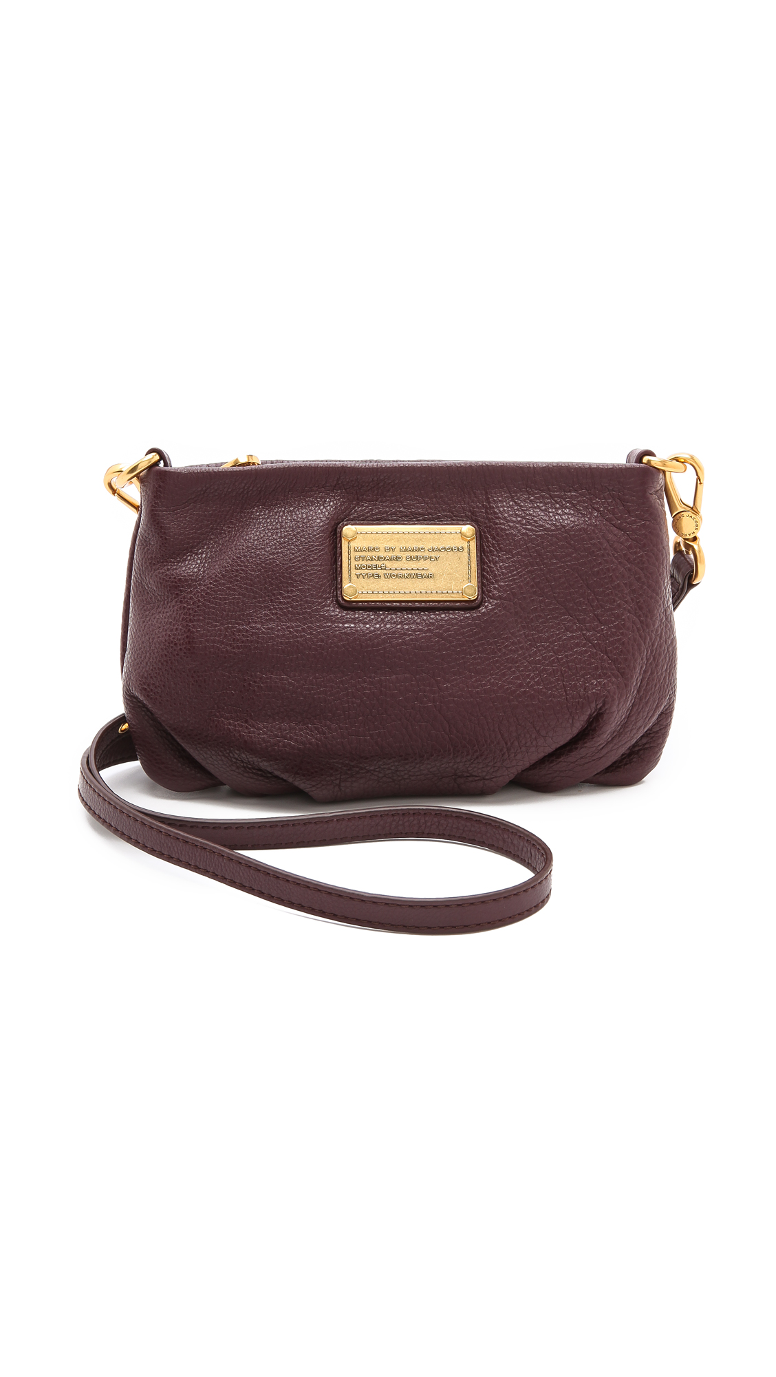 marc by marc jacobs classic q percy cross body bag in brown cardamom brown lyst. Black Bedroom Furniture Sets. Home Design Ideas