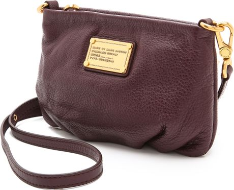 Marc By Marc Jacobs Classic Q Percy Cross Body Bag in Brown (Cardamom Brown) | Lyst