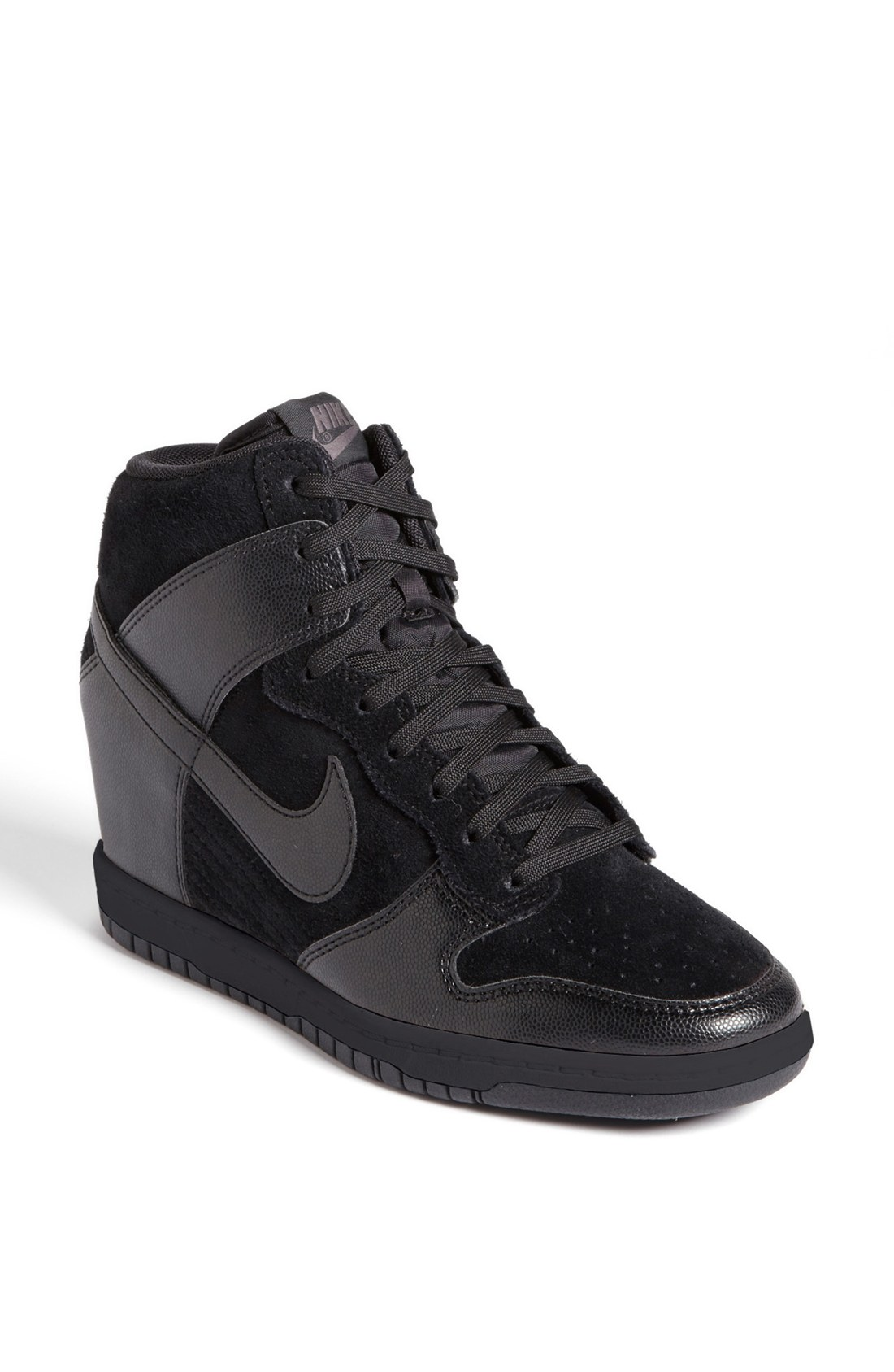 nike dunk sky hi in black lyst. Black Bedroom Furniture Sets. Home Design Ideas