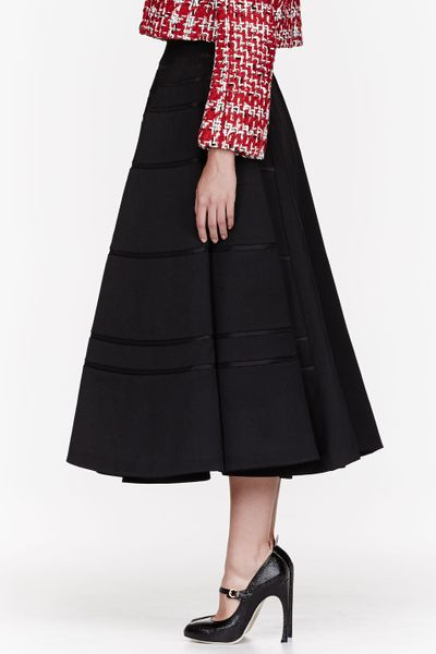 Circle Skirt Black 90