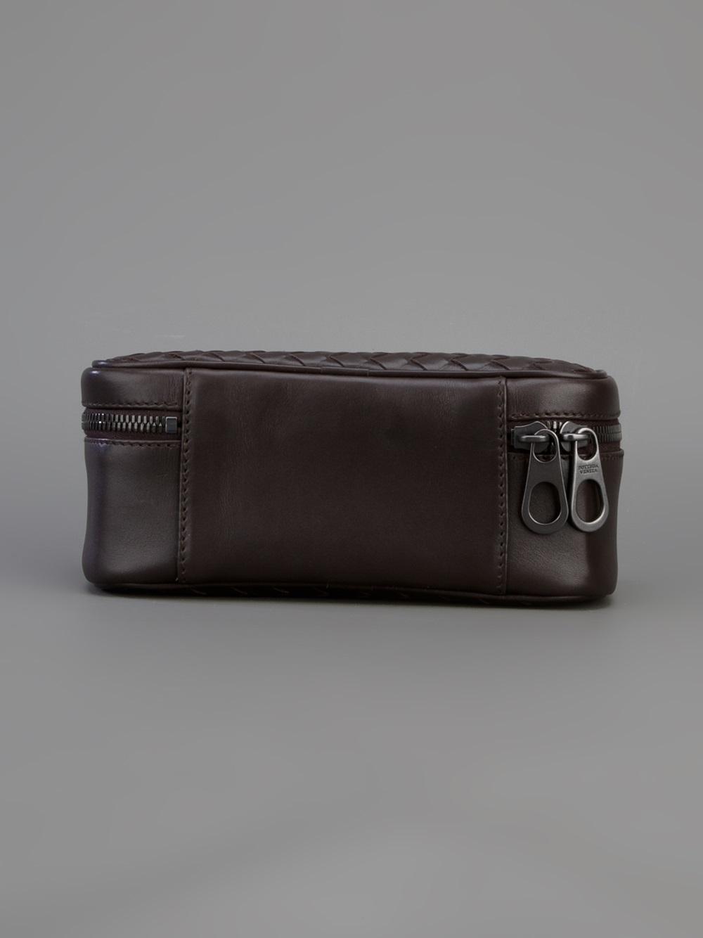 Bottega veneta Watches Travel Case in Black | Lyst