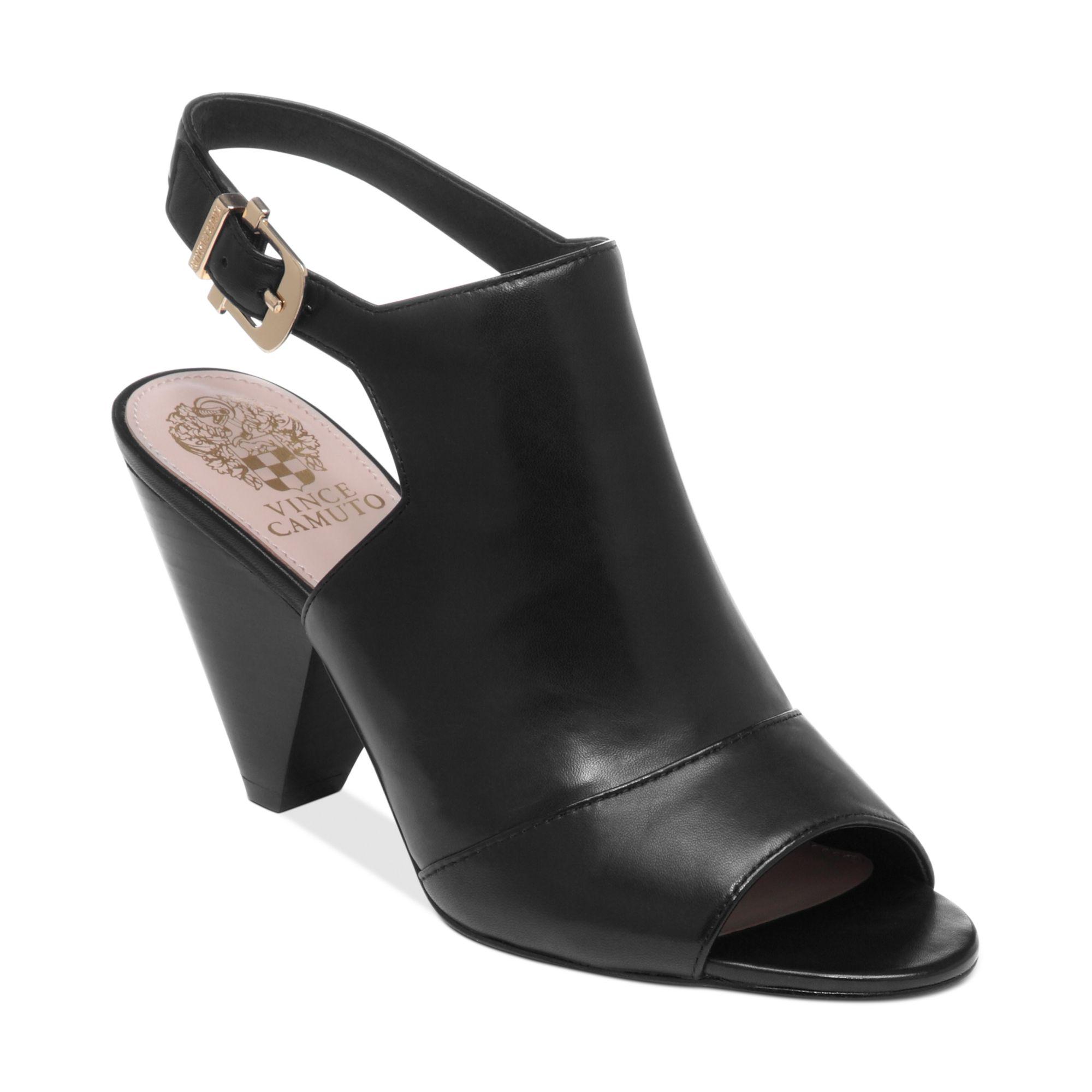 Vince Camuto Erro Sandals In Black Lyst