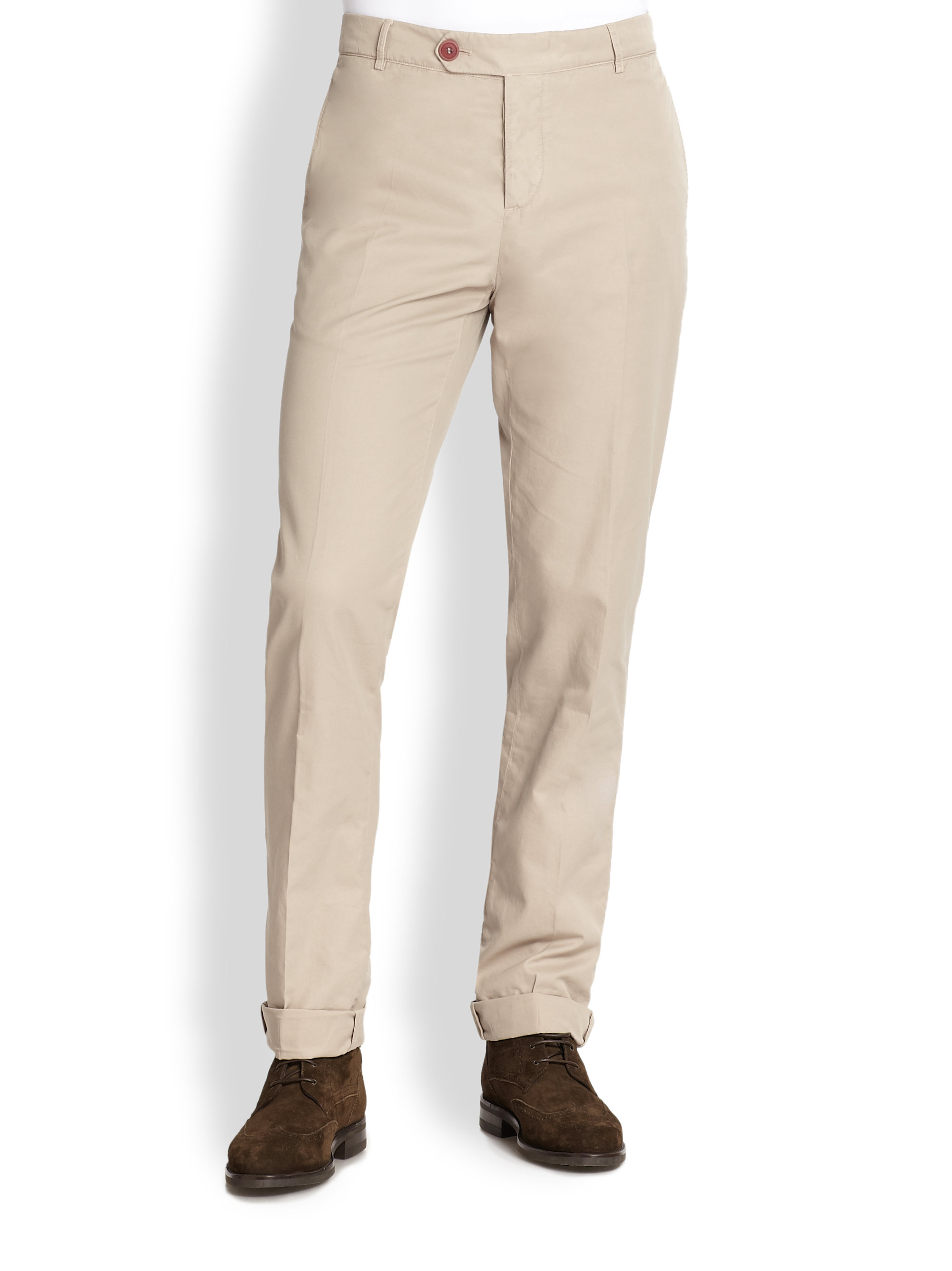 Traditional Fit chinos blue Brunello Cucinelli Outlet Best bmRv55RH