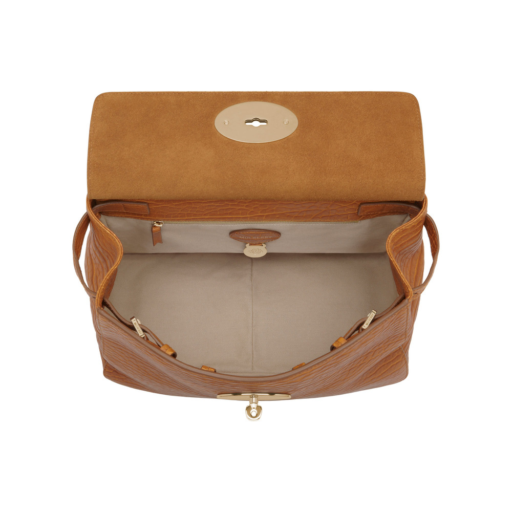 Lyst - Mulberry Small Suffolk in Brown 192d1cefff575