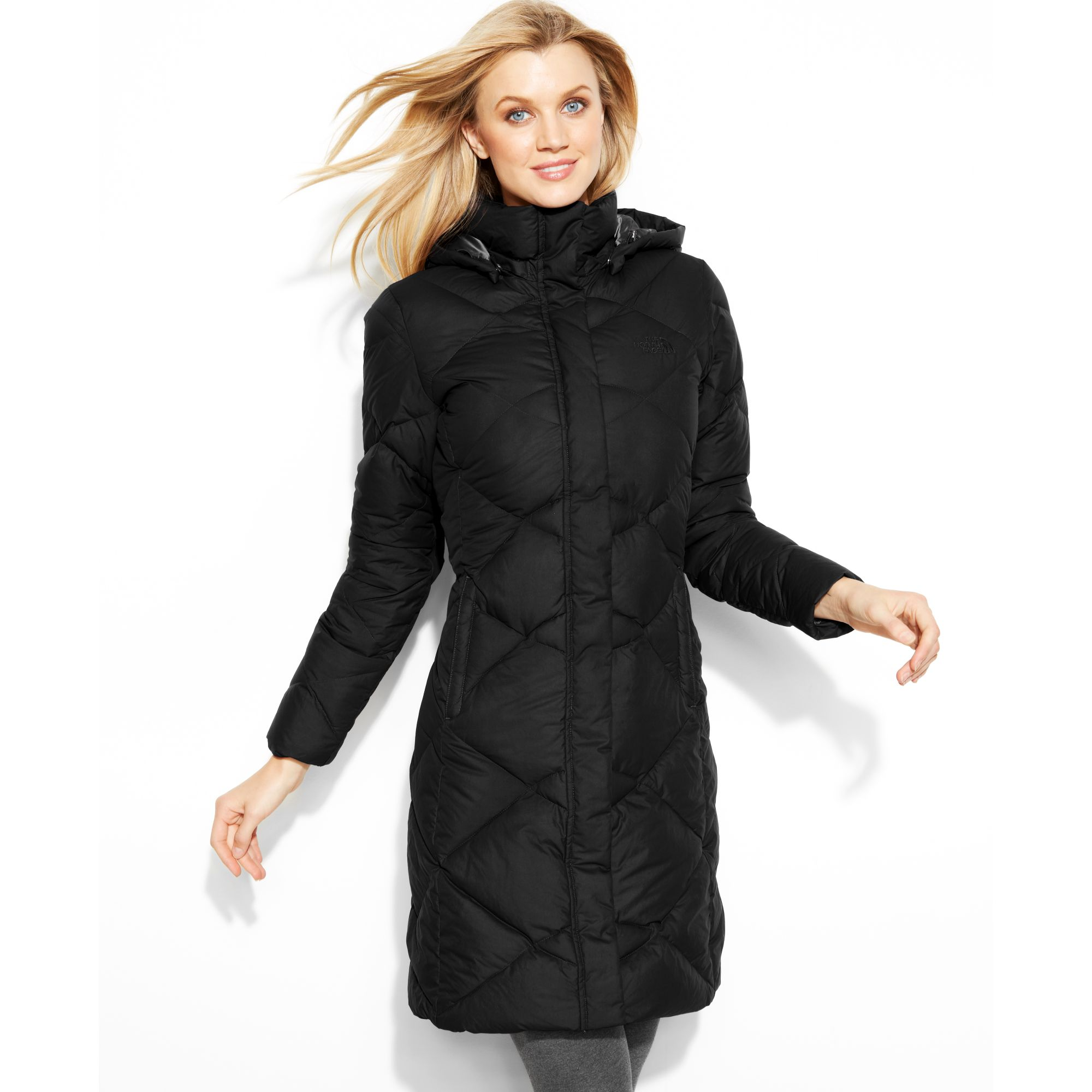 The North Face Miss Metro Hooded Puffer Parka In Black Lyst