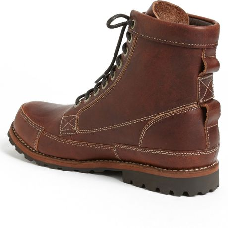 Timberland Earthkeepers Original Boot in Red for Men (Red Brown Distressed)   Lyst