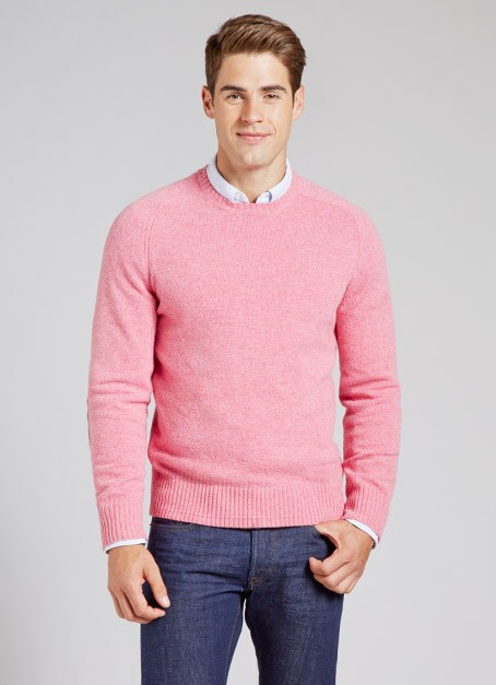 Bonobos Sweater in Pink for Men | Lyst