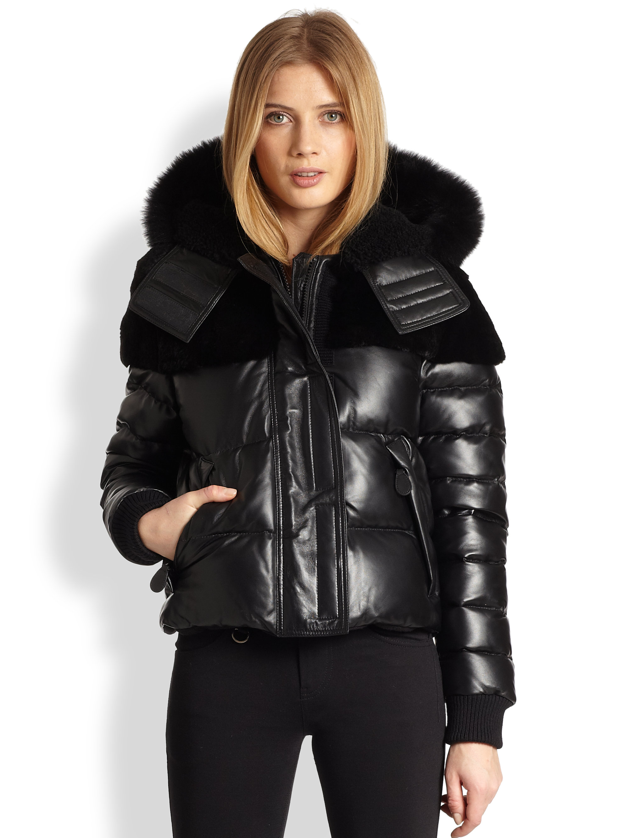 Black Puffer Jacket Women S