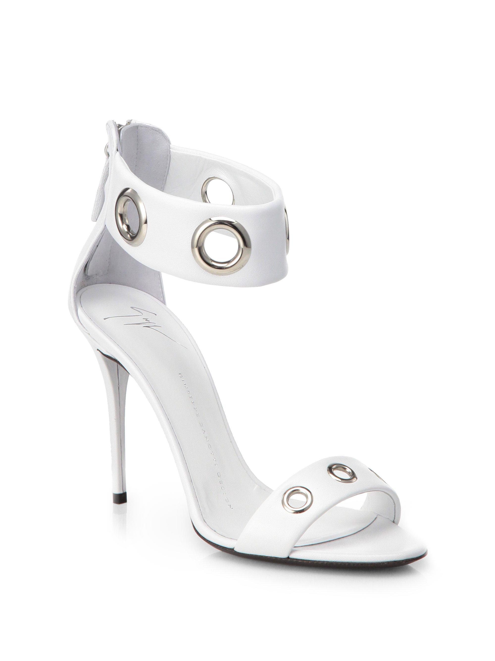 cross strap sandals - White Giuseppe Zanotti UwXfUA0zQ