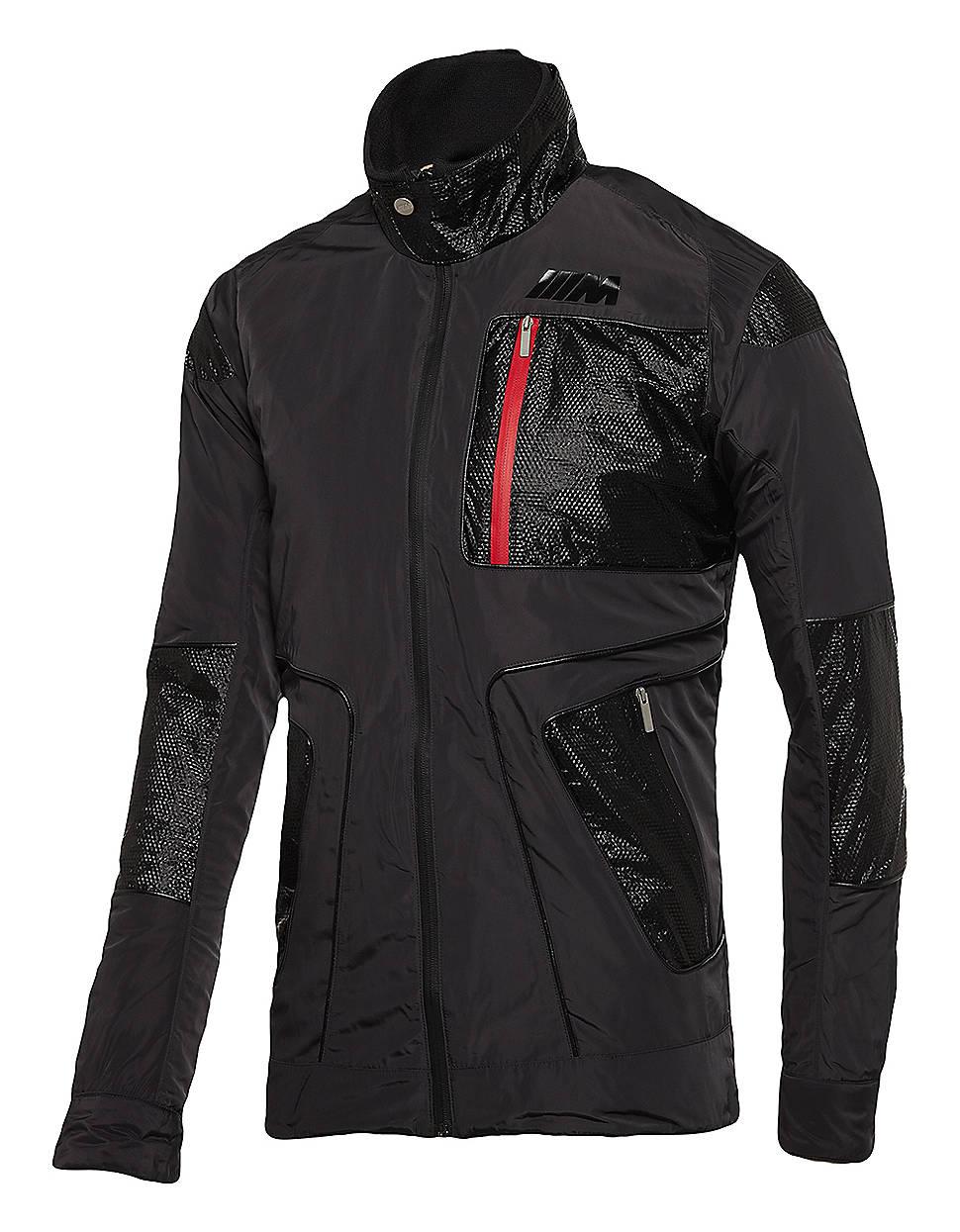 puma bmw jacket in black for men lyst. Black Bedroom Furniture Sets. Home Design Ideas