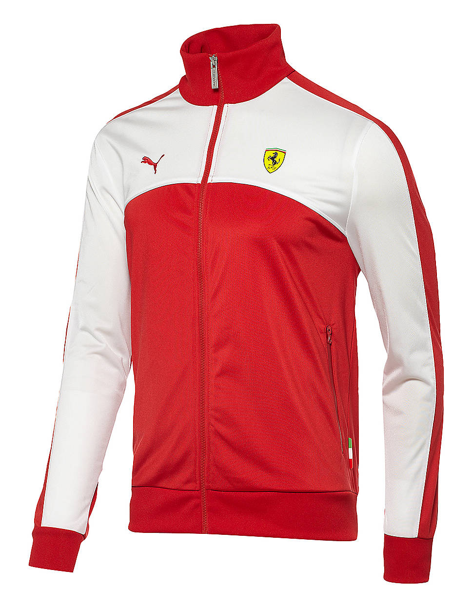 Lyst Puma Track Jacket In Red For Men