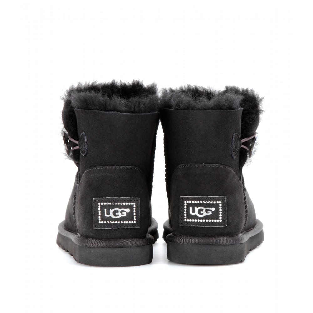 Ugg Mini Black Bling