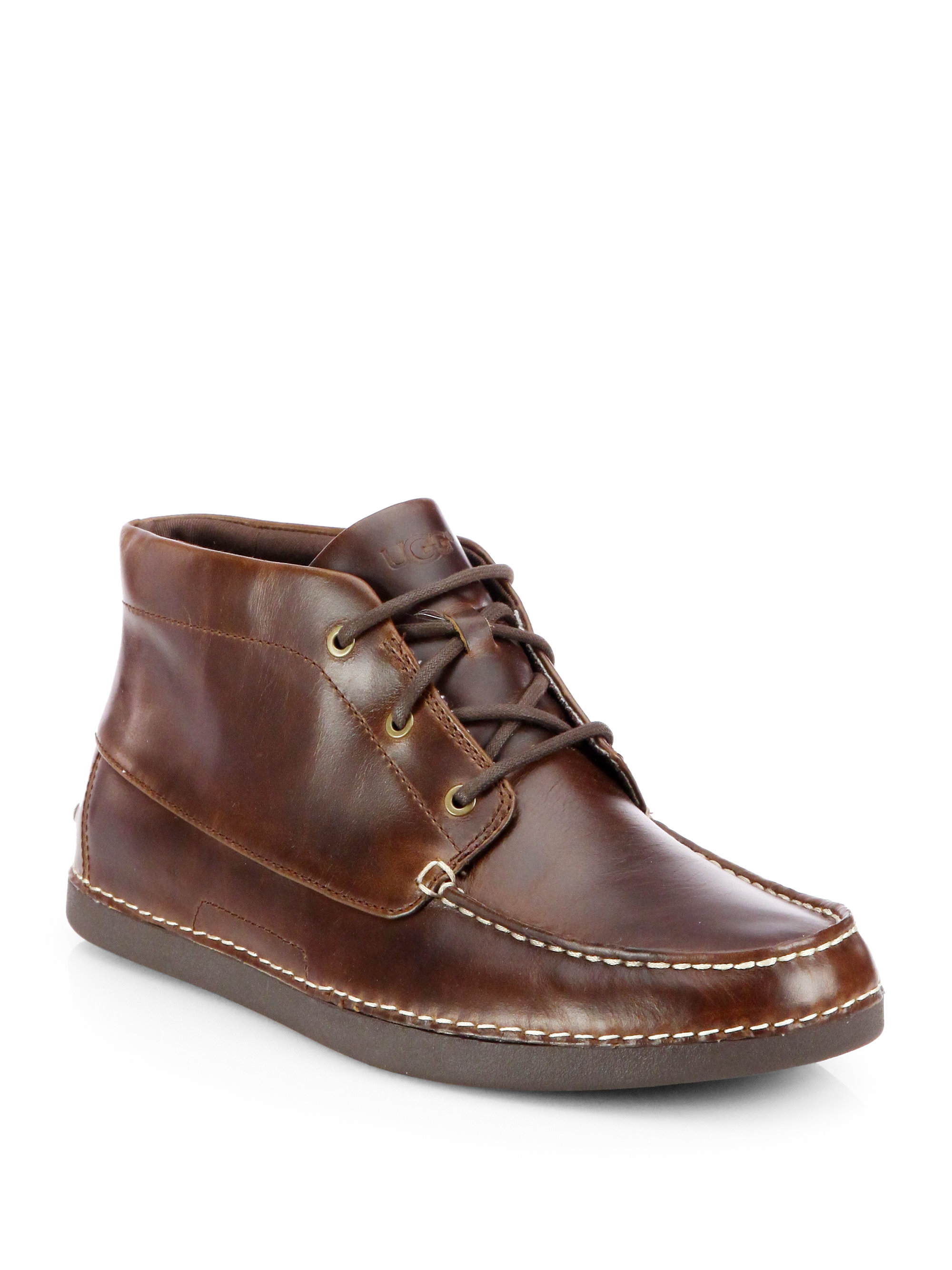 ugg kaldwell chukka boots in brown for lyst