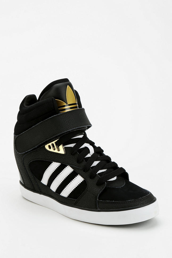 Lyst - Urban outfitters Adidas Amberlight Hidden Wedge ...