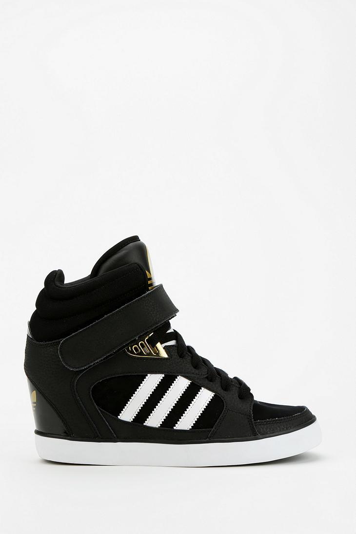 adidas wedge sneakers