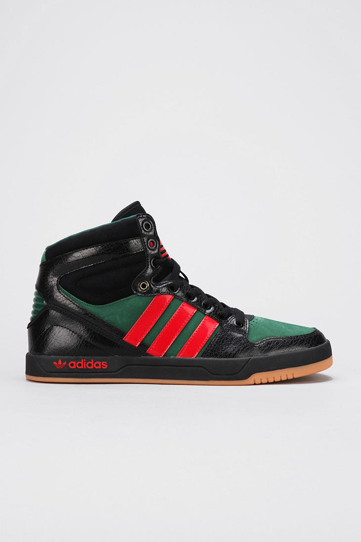 promo code a0436 865b5 Lyst - Urban Outfitters Adidas Court Attitude Hightop Sneake