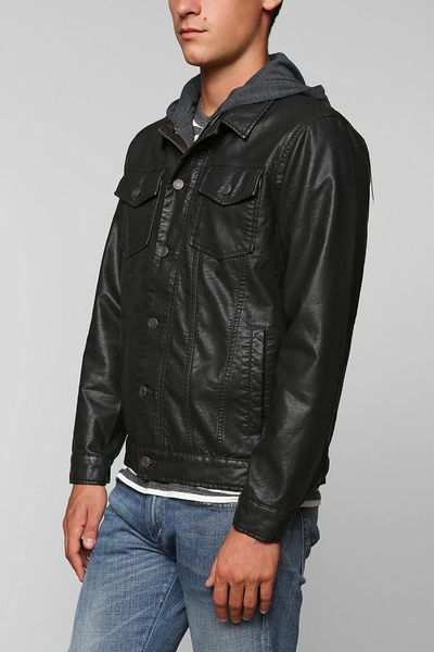 Urban Outfitters Vegan Leather Jacket Knee High