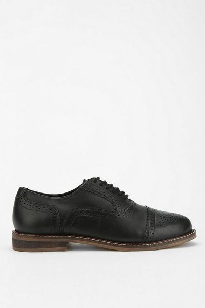 Urban Outfitters Cooperative Captoe Brogue Oxford in Black ...