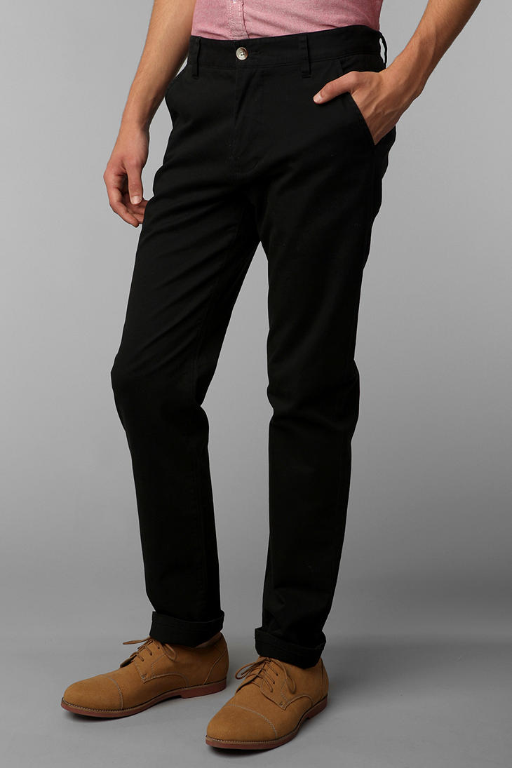 Lyst Hawkings Mcgill Stretch Skinny Chino Pant In Black