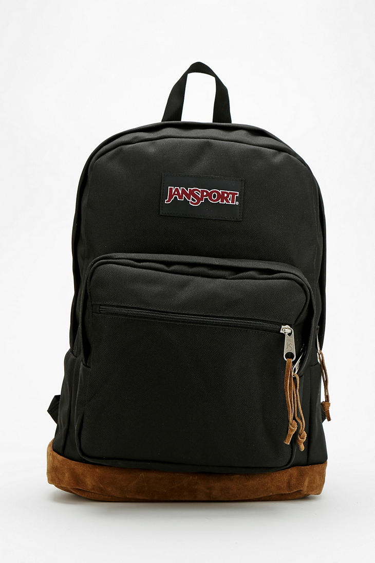Lyst Urban Outfitters Jansport Basic Backpack In Black