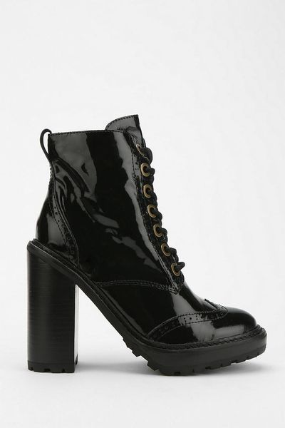 Urban Outfitters Jeffrey Campbell Fork Platform Lace Up