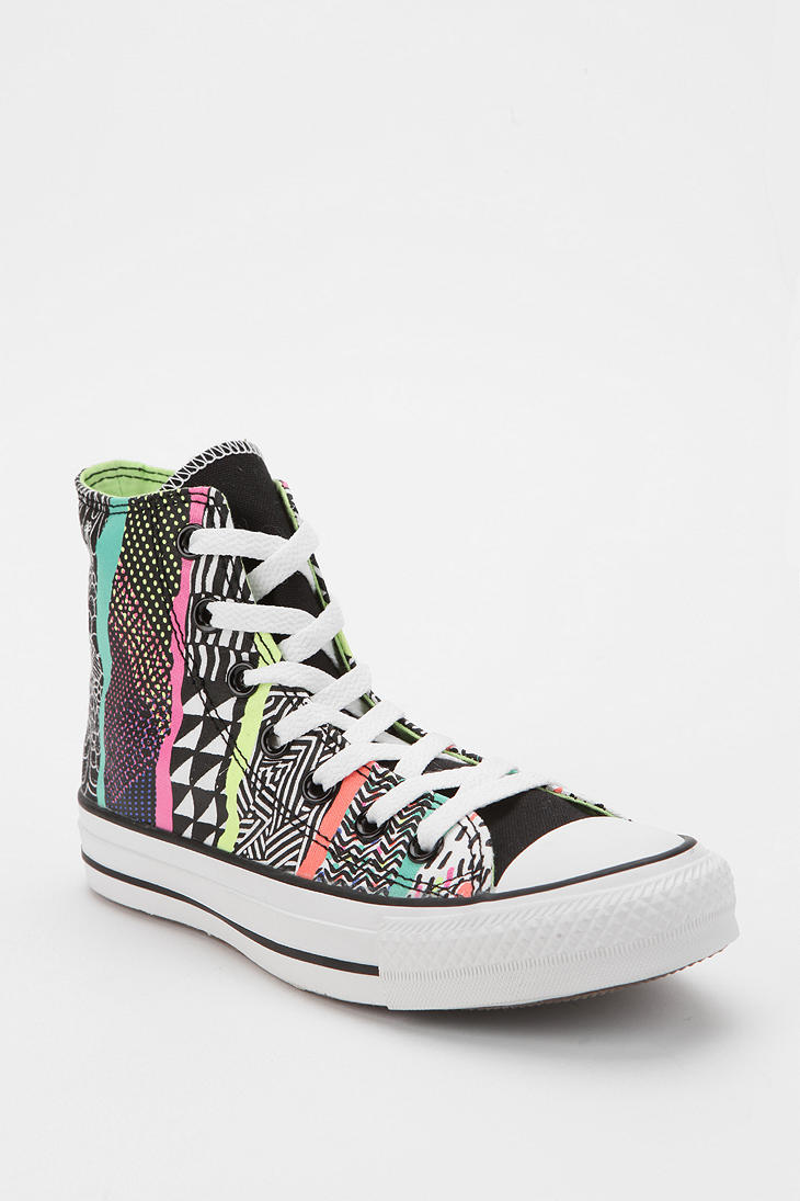 deb007825247 Lyst - Urban Outfitters Converse Chuck Taylor All Star Mixprint ...