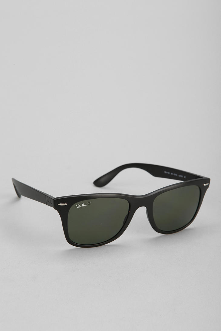 ce3db954812 Lyst - Urban Outfitters Rayban Carbon Fire Wayfarer Sunglasses in Black