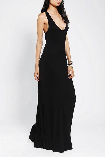 Urban Outfitters Sparkle Fade Asymmetrical Back Maxi Dress