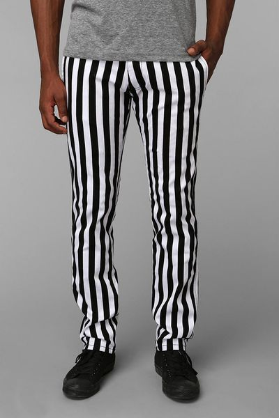 Urban Outfitters Tripp Nyc Stripe Top Cat Pants In White
