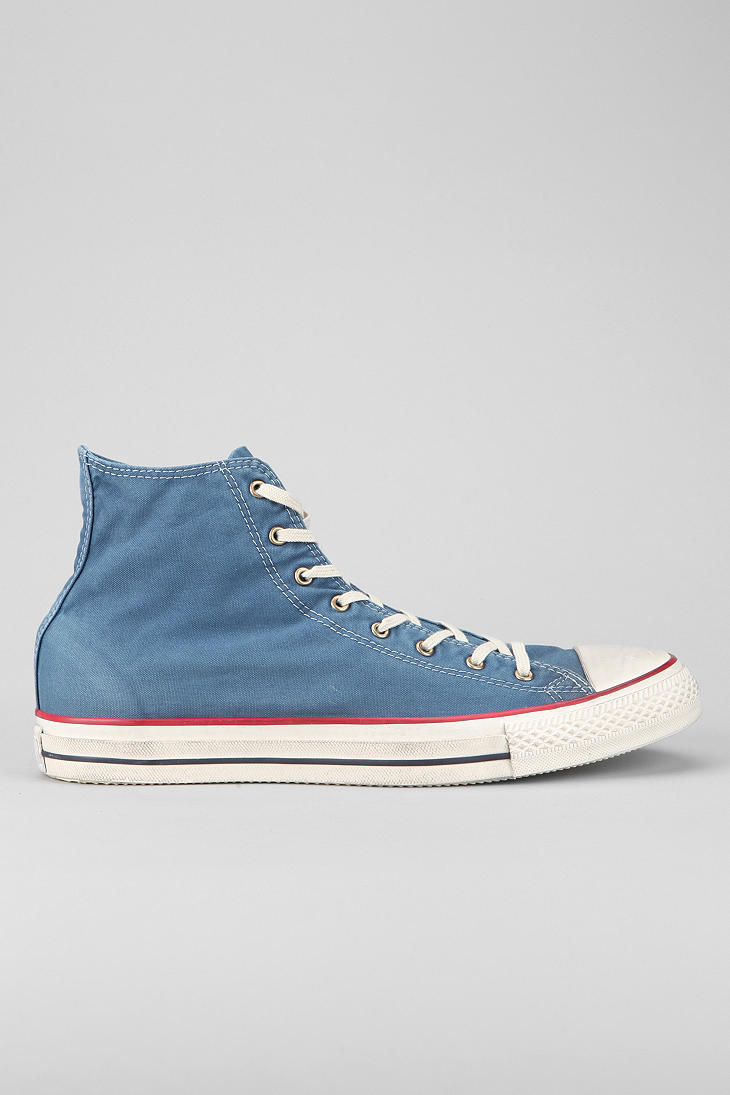 353791aa39827a Lyst - Urban Outfitters Converse Chuck Taylor All Star Washed Mens ...