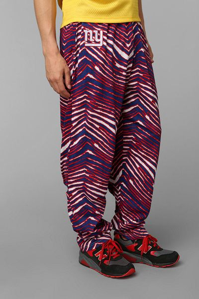 Nike Performance Polo >> Urban Outfitters Zubaz New York Giants Pant in Blue for Men | Lyst