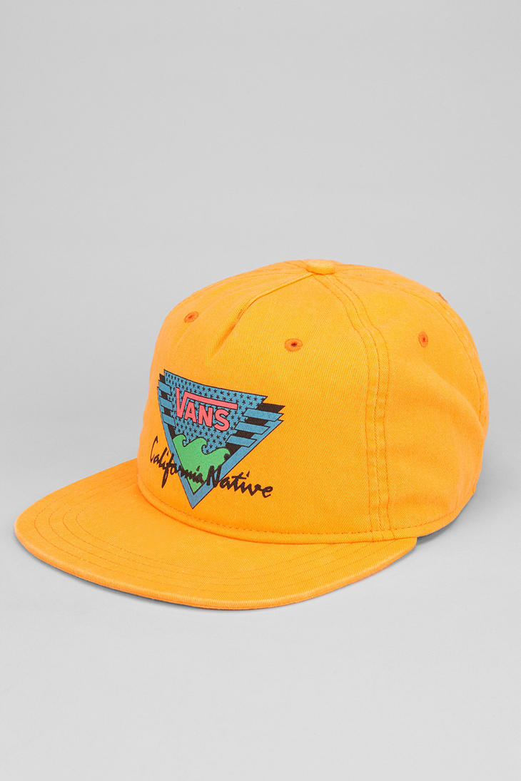 Lyst - Urban Outfitters Vans California Native Snapback Hat in ... 9a09d2ec803