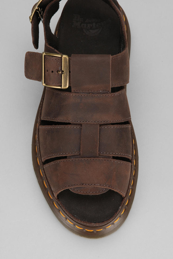 Lyst Urban Outfitters Dr Martens Flash Fisherman Sandal