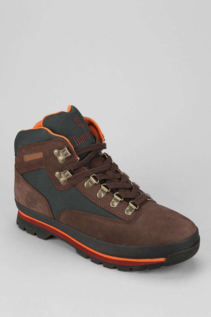 Urban outfitters Timberland Euro Hiker Boot in Brown for ...
