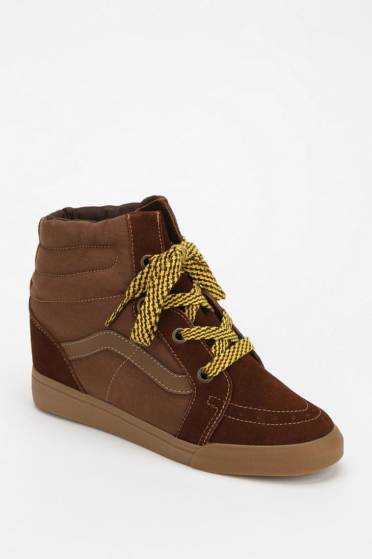 Lyst - Urban Outfitters Sk8hi Hidden Wedge Womens Hightop Sneaker in ... 8df4c7fc38c4