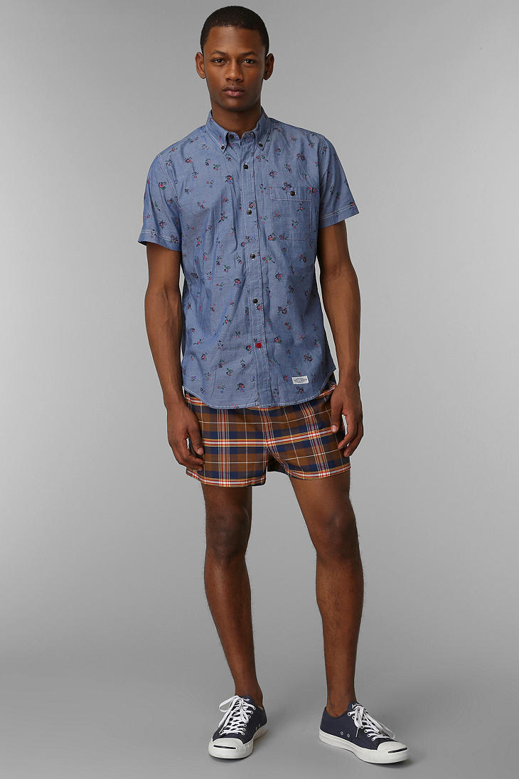Urban Outfitters Vintage Mens Vintage Swim Trunk In
