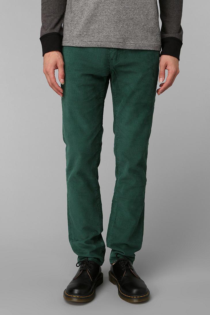 Dark Green Jeans For Men