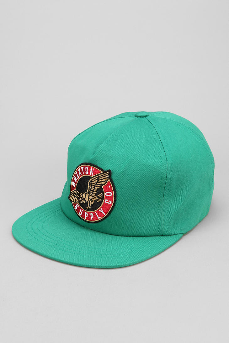 Lyst - Urban outfitters Snapback Hat in Green for Men