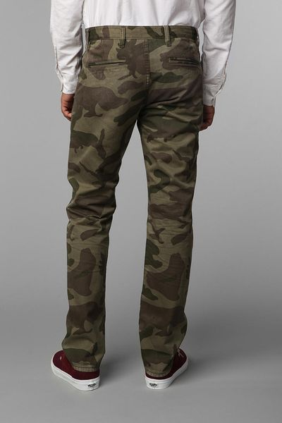Mens Camo Pants. The battle for cool casual clothing ends with men's camo pants. From chinos to cargos, check out these laid-back bottoms in this attention-grabbing print.