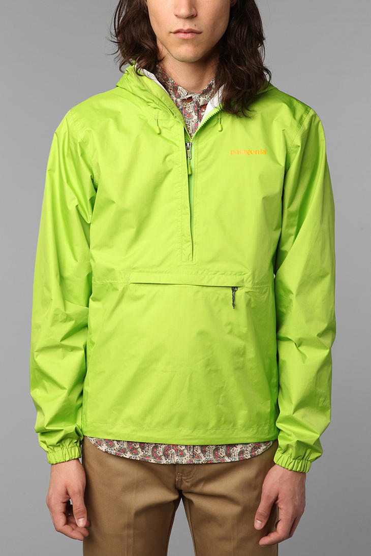 Is patagonia torrent shell pullover the best anorak rainjacket.