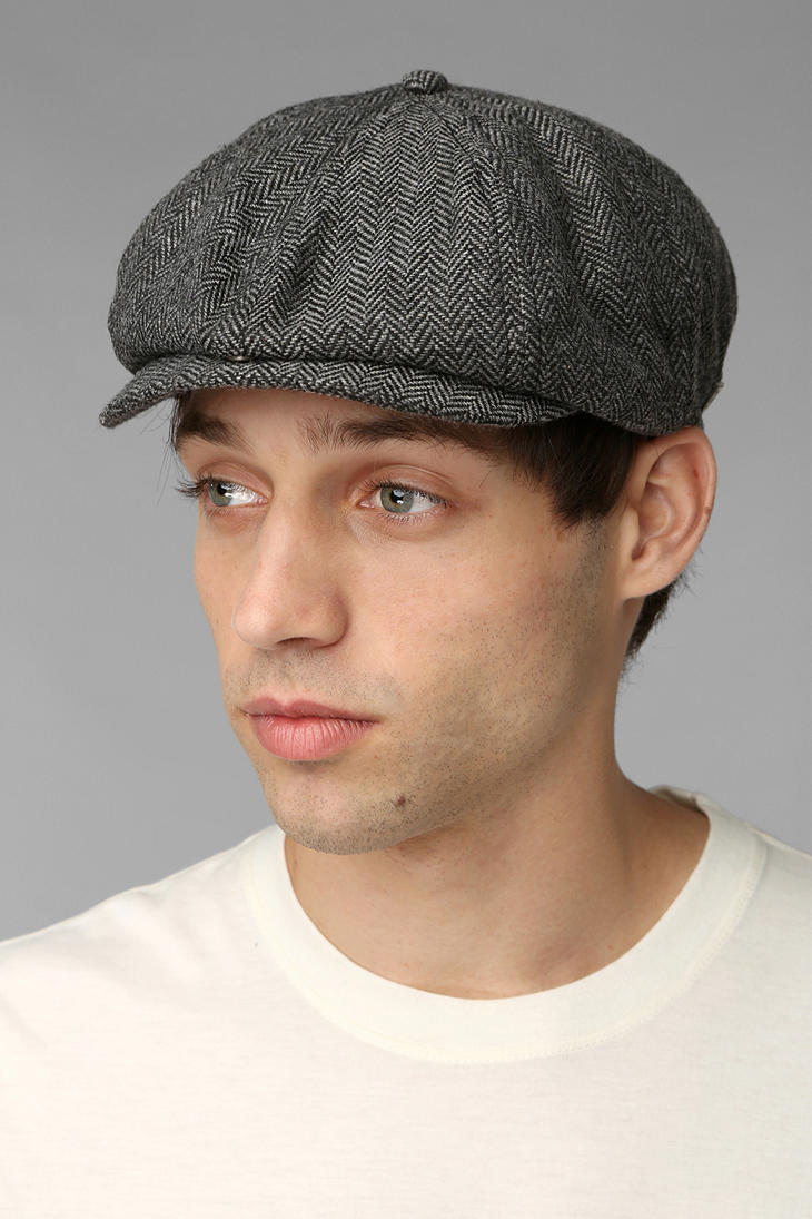 Urban Outfitters Brixton Brood Snap Driver Cap in Gray for Men - Lyst f6a4a88b19d